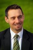 Homem de negócios novo atrativo Imagens de Stock Royalty Free