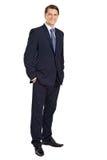 Homem de negócios novo atrativo Fotos de Stock