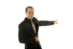 Homem de negócios novo bem sucedido Imagens de Stock Royalty Free