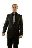 Homem de negócios novo bem sucedido Foto de Stock Royalty Free