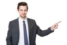 Homem de negócios novo caucasiano foto de stock royalty free