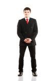 Homem de negócios novo na roupa formal Imagens de Stock Royalty Free