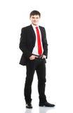Homem de negócios novo na roupa formal Fotografia de Stock