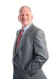 Homem de negócios ocasional - feliz Fotos de Stock Royalty Free