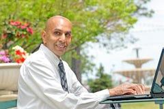 Homem de negócios paquistanês imagens de stock royalty free