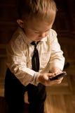 Homem de negócios pequeno Fotos de Stock
