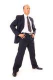 Homem de negócios que olha dentro ao futuro Imagem de Stock Royalty Free