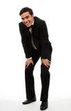 Homem de negócios que tem uma ruptura Fotografia de Stock Royalty Free