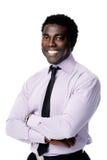 Homem de negócios Relaxed imagem de stock royalty free