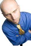 Homem de negócios relutante Fotografia de Stock Royalty Free