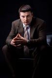 Homem de negócios rico seguro Foto de Stock