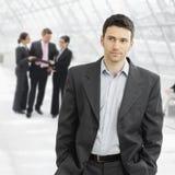 Homem de negócios sério Fotos de Stock