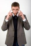 Homem de negócios sério Imagem de Stock