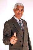 Homem de negócios sênior fotografia de stock