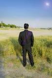 Homem de negócios seguro Fotos de Stock Royalty Free