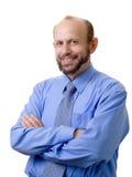 Homem de negócios sorrindo Imagens de Stock