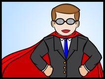 Homem de negócios super Foto de Stock