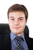 Homem de negócios surpreendido Fotografia de Stock
