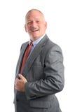 Homem de negócios - surpreendido imagem de stock royalty free