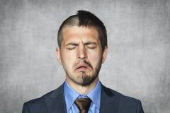 Homem de negócios triste Imagem de Stock Royalty Free
