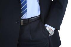 Homem de negócios vestido caro Foto de Stock Royalty Free