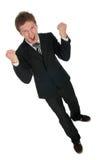 Homem de negócios vitorioso Imagens de Stock Royalty Free