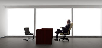 Homem de negócios Waiting For Client ou reunião Fotos de Stock
