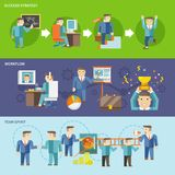 Homem de negócios Working Set ilustração do vetor