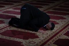 Homem de neg?cios Prayer At Mosque imagem de stock royalty free