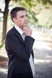 Homem de negócio Fotos de Stock Royalty Free