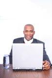 Homem de negócio africano de Amrican Imagens de Stock Royalty Free