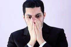 Homem de negócio choc Foto de Stock