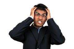 Homem de negócio indiano novo Fotografia de Stock Royalty Free