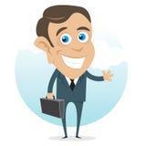 Homem de negócio novo Foto de Stock Royalty Free