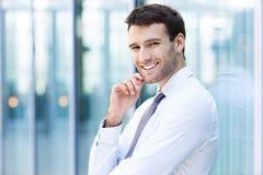 Homem de negócio seguro Fotografia de Stock