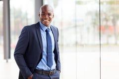 Homem de negócios afro-americano Fotografia de Stock