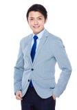Homem de negócios asiático Foto de Stock Royalty Free