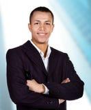 Homem de negócios bem sucedido novo Foto de Stock Royalty Free