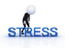 Homem de negócios cansado Imagem de Stock