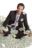 Homem de negócios com dinheiro Imagens de Stock