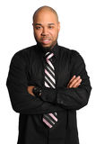 Homem de negócios com os braços cruzados Fotografia de Stock