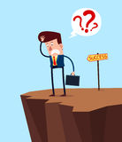 Homem de negócios confuso Imagens de Stock