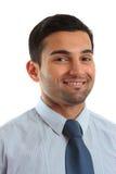 Homem de negócios de sorriso Imagem de Stock