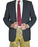 Homem de negócios do trabalho doméstico Imagem de Stock Royalty Free