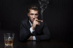 Homem de negócios em Feierabend Fotografia de Stock Royalty Free