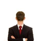 Homem de negócios estranho Fotografia de Stock Royalty Free