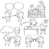 Homem de negócios Illustrations Imagens de Stock