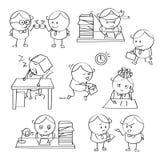 Homem de negócios Illustrations Imagens de Stock Royalty Free