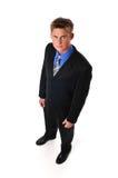 Homem de negócios novo Imagem de Stock Royalty Free