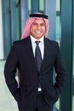 Homem de negócios árabe Fotografia de Stock